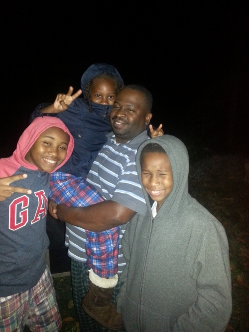 Bell Family Astronomers what the lunar eclipse!